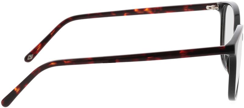 Picture of glasses model Grazia-schwarz in angle 90