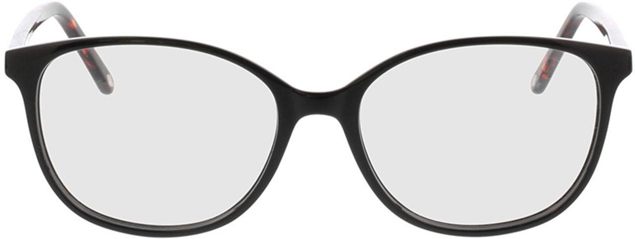Picture of glasses model Grazia-schwarz in angle 0