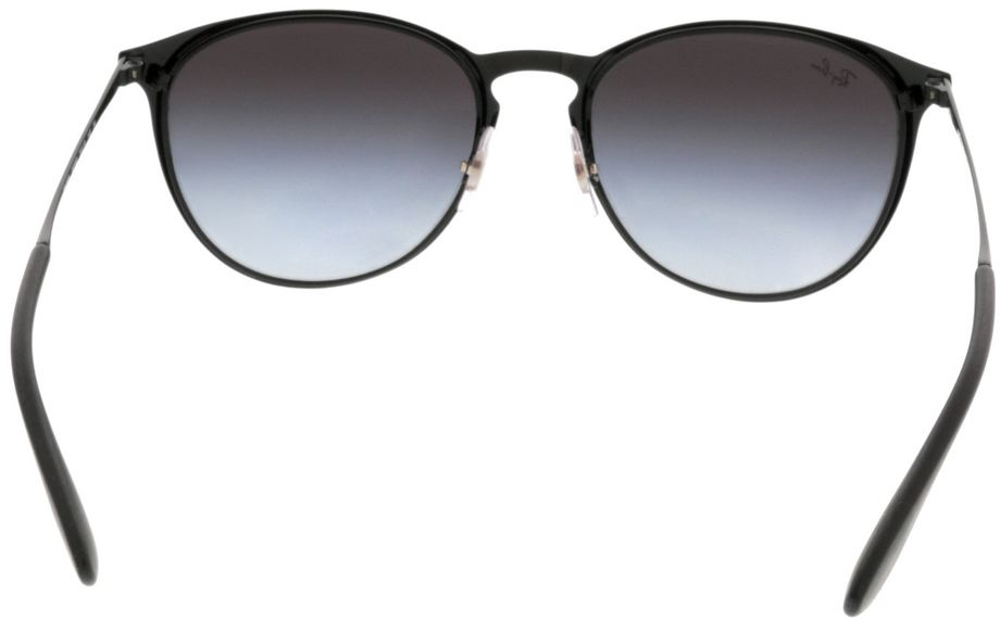 Picture of glasses model Ray-Ban Erika Metal RB3539 002/8G 54-19 in angle 180