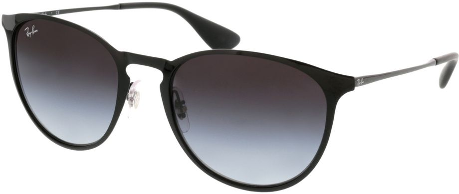 Picture of glasses model Ray-Ban Erika Metal RB3539 002/8G 54-19 in angle 330