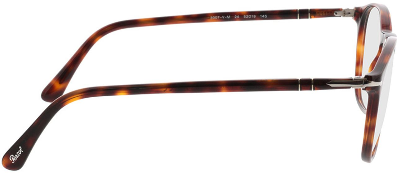 Picture of glasses model Persol PO3007VM 24 52-19 in angle 90