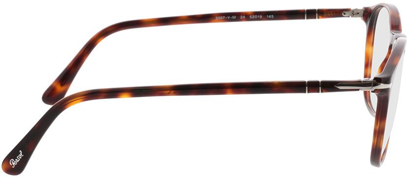Picture of glasses model Persol PO3007VM 24 52-19 in angle 90