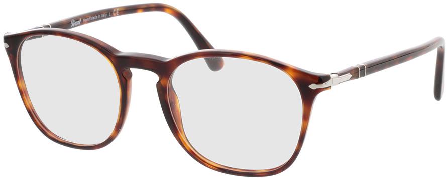 Picture of glasses model Persol PO3007VM 24 52-19 in angle 330