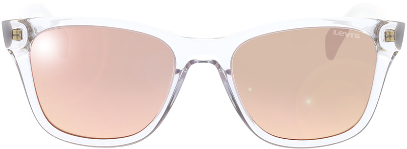 Picture of glasses model Levi's LV 1002/S 900 53-19 in angle 0