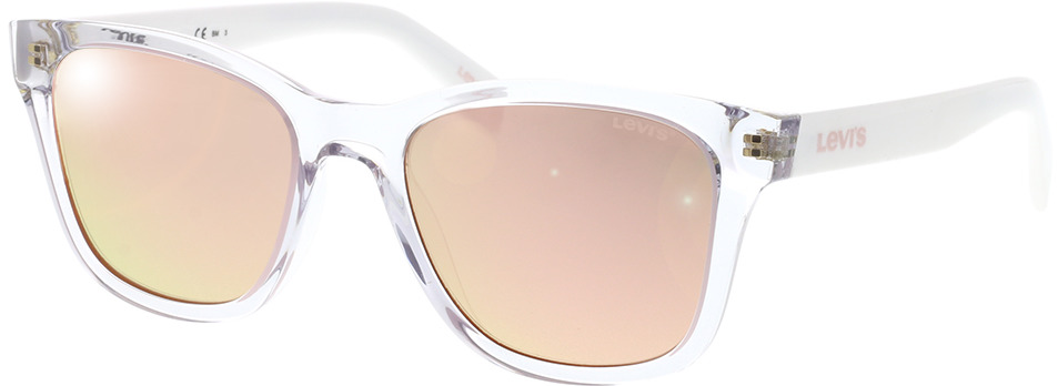 Picture of glasses model Levi's LV 1002/S 900 53-19 in angle 330