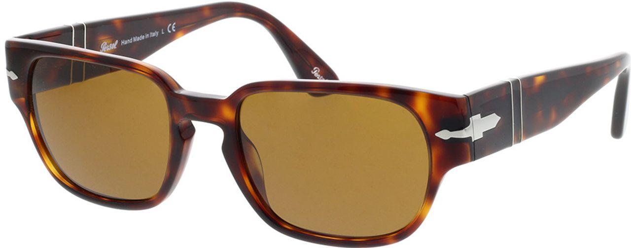 Picture of glasses model Persol PO3245S 24/33 52-19 in angle 330