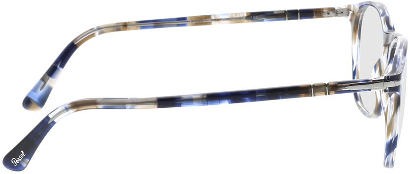 Picture of glasses model Persol PO3007VM 1126 52-19 in angle 90