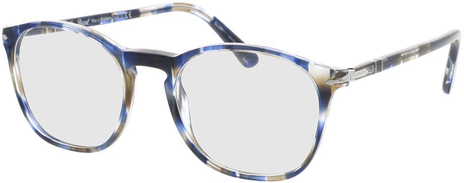 Picture of glasses model Persol PO3007VM 1126 52-19 in angle 330