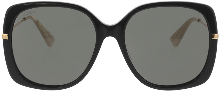 Picture of glasses model Gucci GG0511S-001 57-18 in angle 0