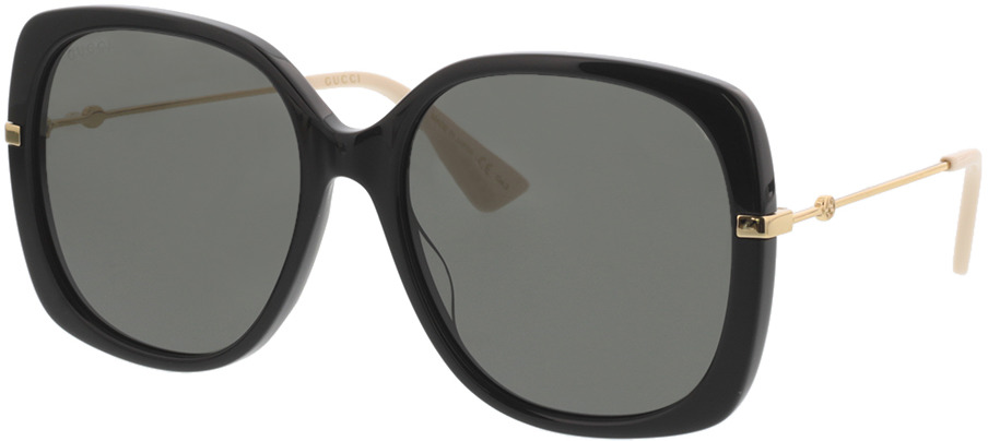 Picture of glasses model Gucci GG0511S-001 57-18 in angle 330