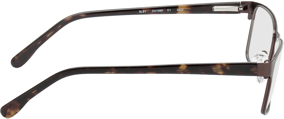Picture of glasses model Burgos brown/brown/mottled in angle 90