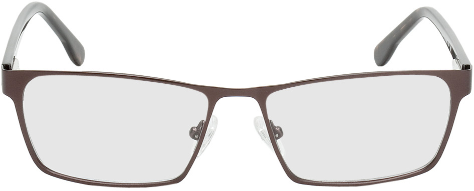 Picture of glasses model Burgos brown/brown/mottled in angle 0