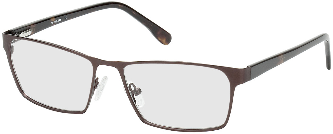 Picture of glasses model Burgos brown/brown/mottled in angle 330