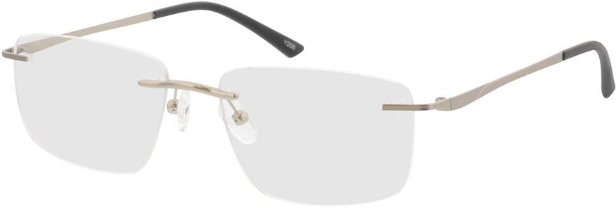 Picture of glasses model Livius-matt silber in angle 330