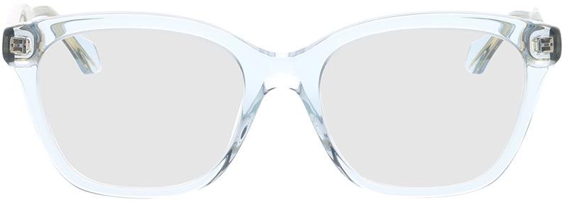 Picture of glasses model Gucci GG0566O-003 52-18 in angle 0