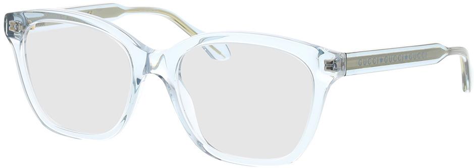 Picture of glasses model Gucci GG0566O-003 52-18 in angle 330