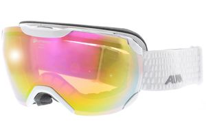 Skibrille PHEOS S White QHM Pink sph.