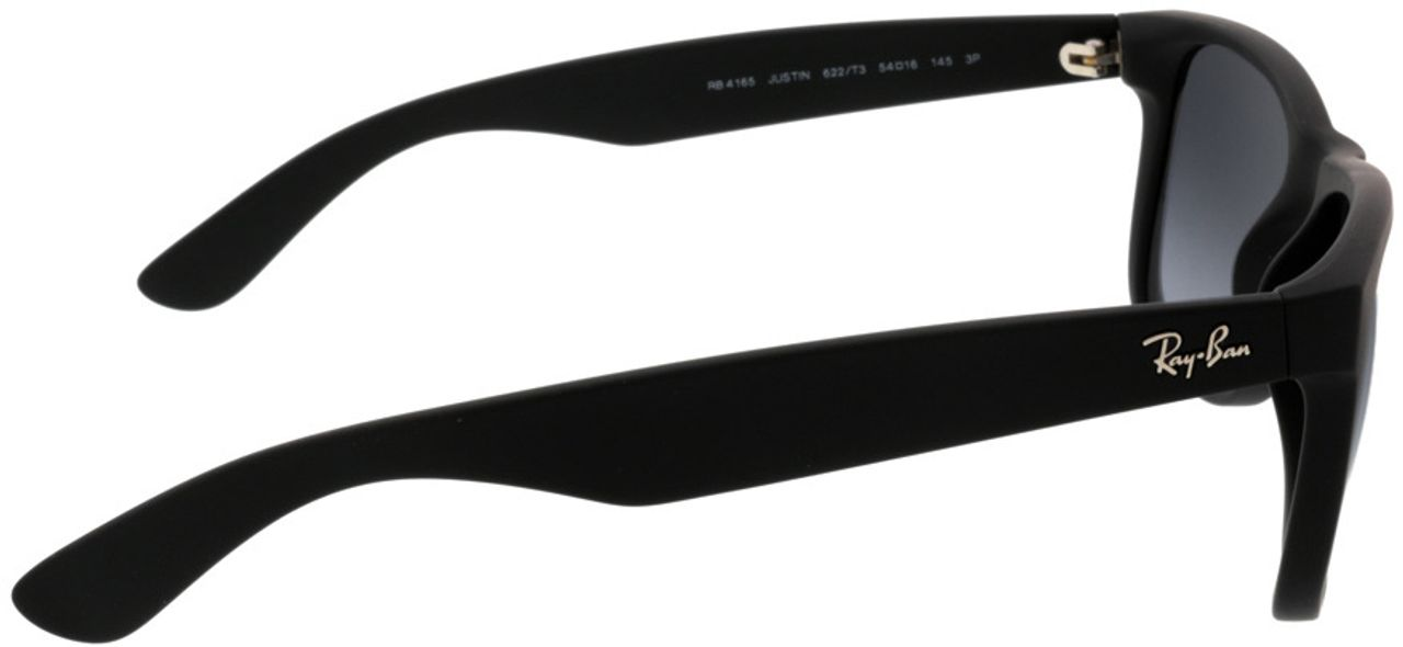 Picture of glasses model Ray-Ban Justin RB4165 622/T3 54-16 in angle 90