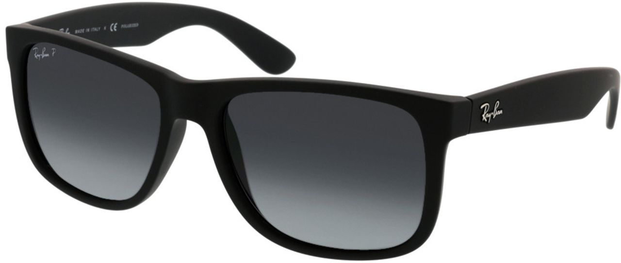 Picture of glasses model Ray-Ban Justin RB4165 622/T3 54-16 in angle 330