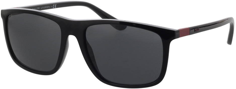 Picture of glasses model Polo Ralph Lauren PH4175 500187 57-17 in angle 330