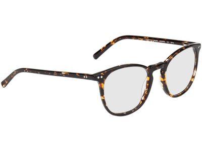 Brille Athen-braun-gelb-meliert