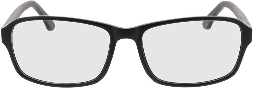 Picture of glasses model Benito-matt schwarz in angle 0