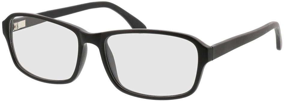 Picture of glasses model Benito-matt schwarz in angle 330