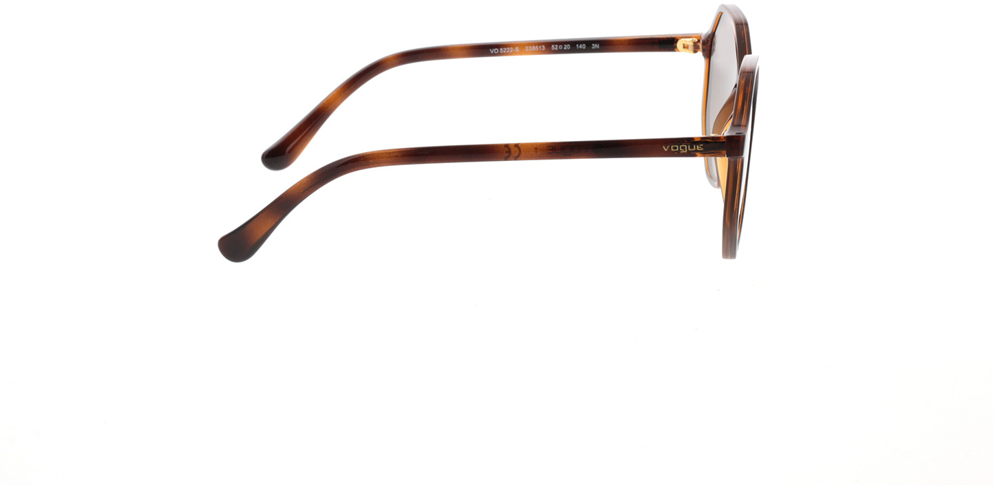Picture of glasses model Vogue VO5222S 238613 52-20  in angle 90