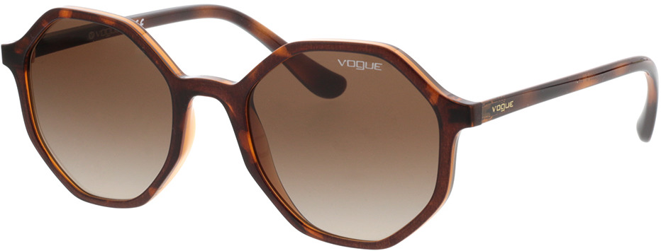 Picture of glasses model Vogue VO5222S 238613 52-20  in angle 330