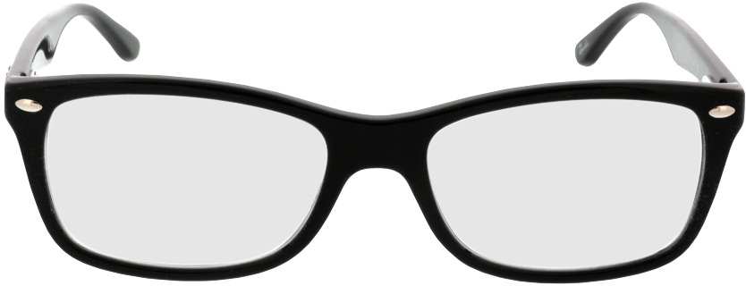 Picture of glasses model Ray-Ban RX5228 2000 53-17 in angle 0