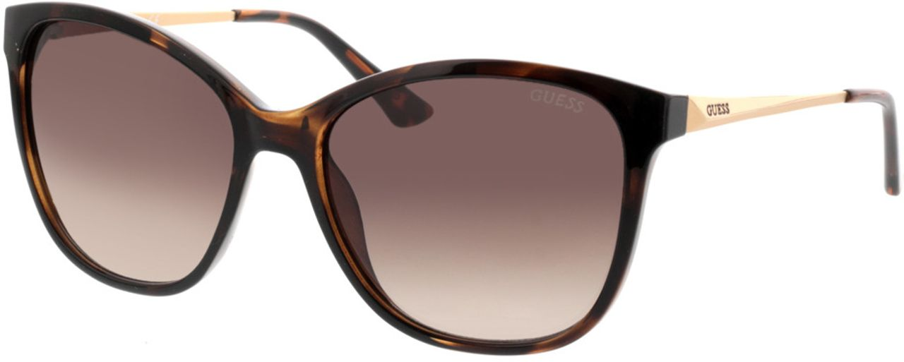 Picture of glasses model Guess GU7502 52F 57-17 in angle 330