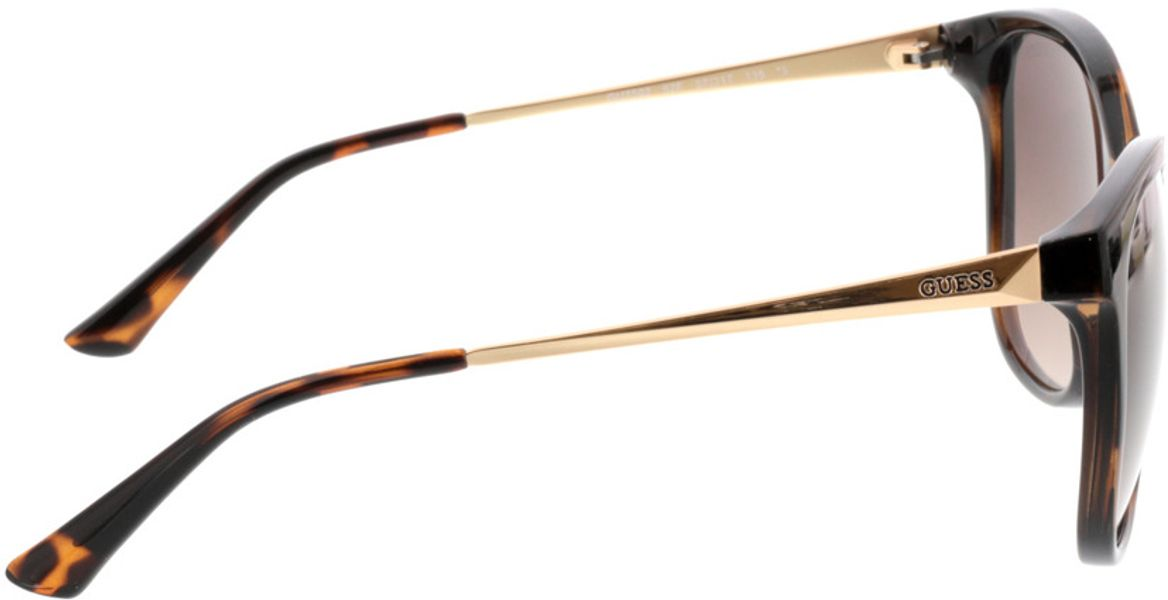 Picture of glasses model Guess GU7502 52F 57-17 in angle 90