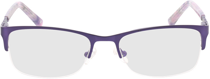 Picture of glasses model Evelyn-lila in angle 0