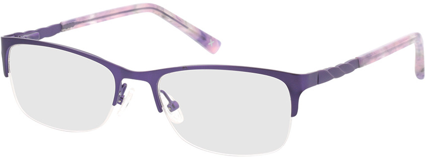 Picture of glasses model Evelyn-lila in angle 330