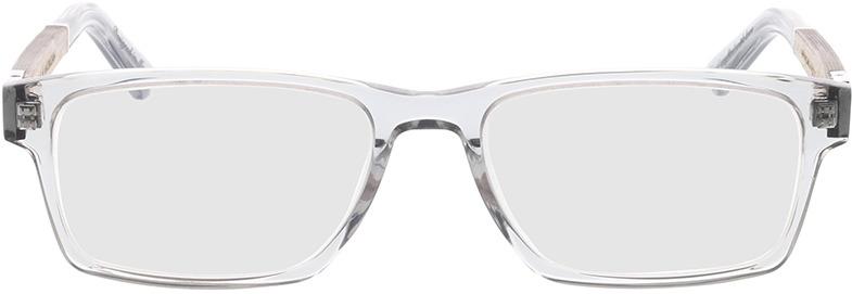 Picture of glasses model Wood Fellas Optical Maximilian Premium chalk oak/crystal grey 53-17 in angle 0