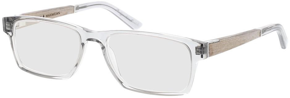 Picture of glasses model Wood Fellas Optical Maximilian Premium chalk oak/crystal grey 53-17 in angle 330