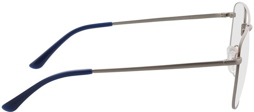 Picture of glasses model Gordon-silber/blau in angle 90