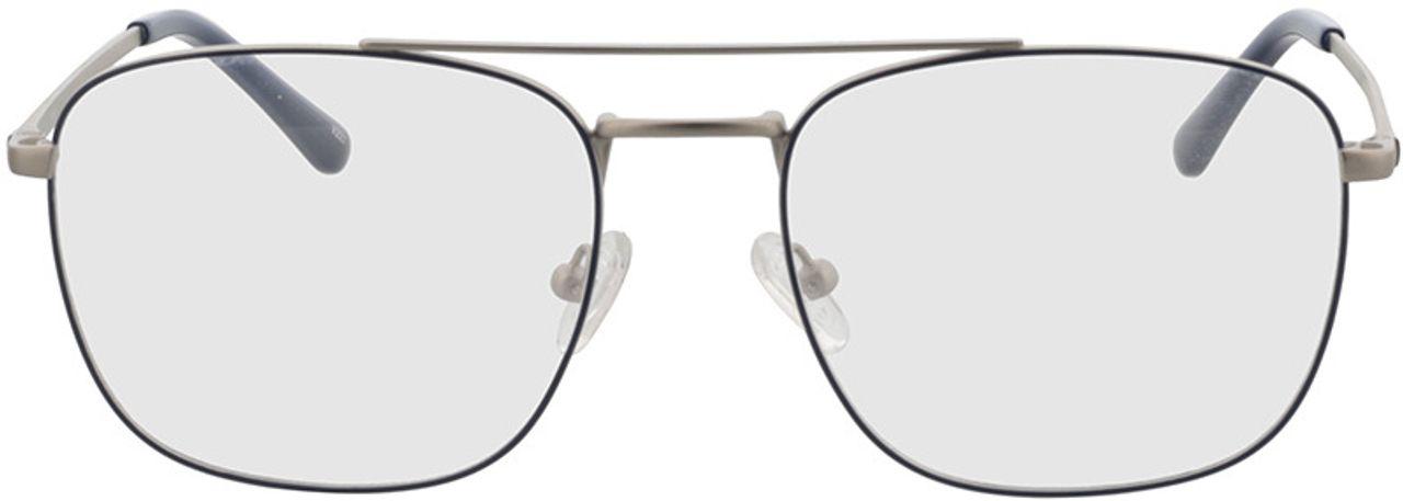 Picture of glasses model Gordon-silber/blau in angle 0