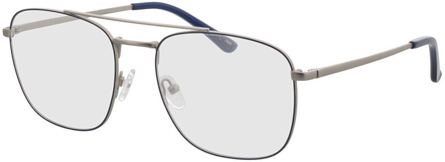 Picture of glasses model Gordon-silber/blau in angle 330