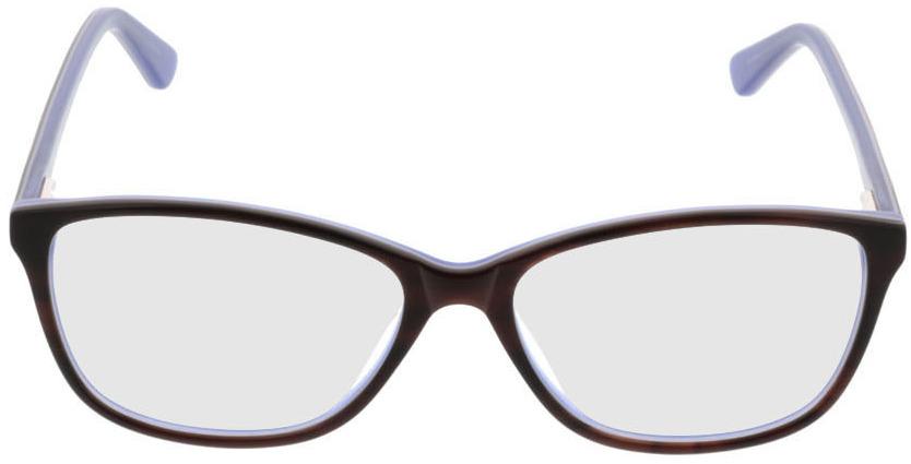 Picture of glasses model Patna-brun/lila in angle 0