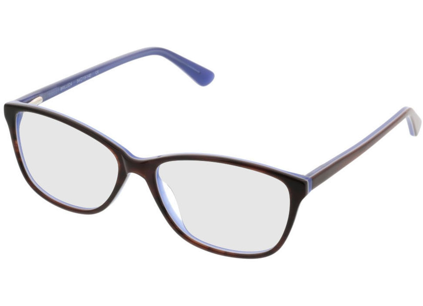 3984-singlevision-0000 Patna-braun/lila Gleitsichtbrille, Vollrand Brille24 Collection