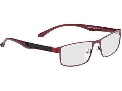 Brille Bolton-rot/schwarz