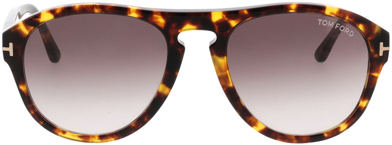Picture of glasses model Tom Ford FT0677 52T in angle 0