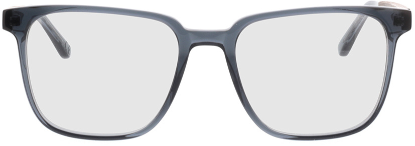 Picture of glasses model TAKE A SHOT Lenus Slate Crystal RX: Walnussholz 54-19 in angle 0
