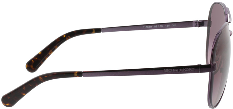 Picture of glasses model Michael Kors Chelsea MK5004 11588H 59-13 in angle 90
