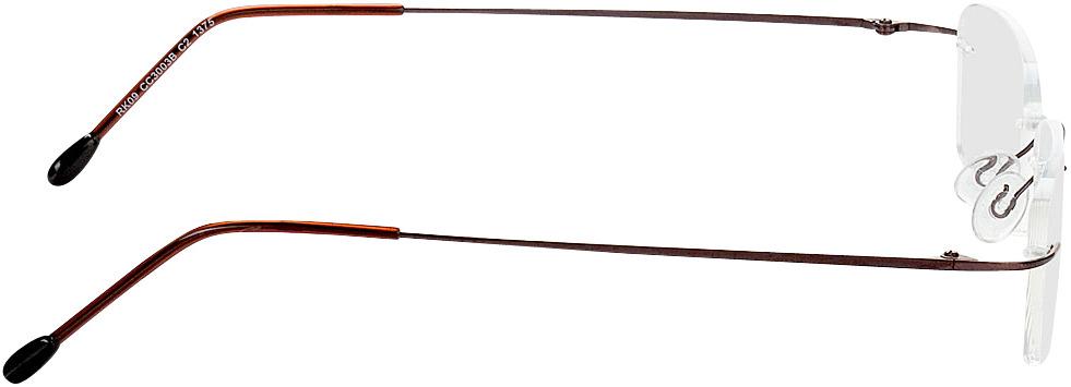Picture of glasses model Davos castanho in angle 90