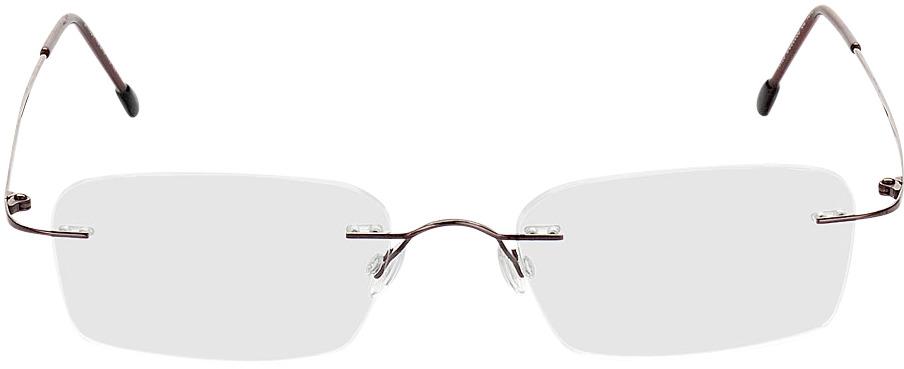 Picture of glasses model Davos castanho in angle 0