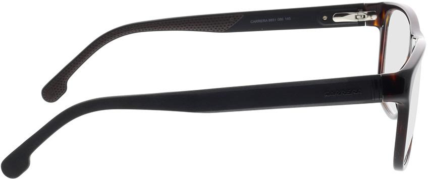 Picture of glasses model Carrera CARRERA 8851 086 56-16 in angle 90