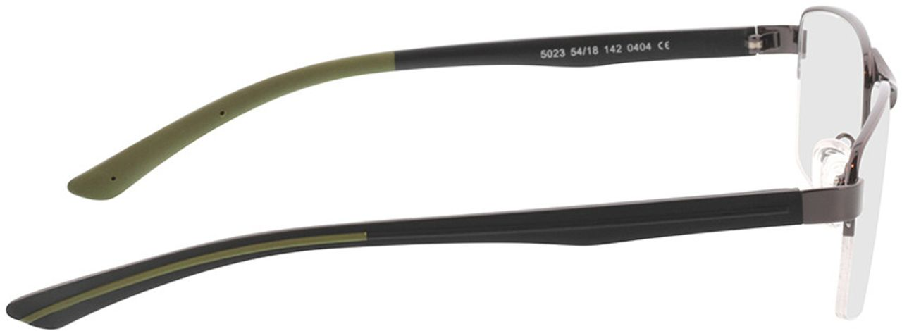 Picture of glasses model Teos-anthrazit in angle 90