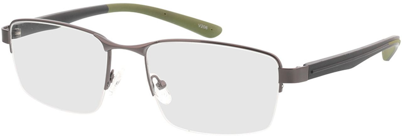 Picture of glasses model Teos-anthrazit in angle 330